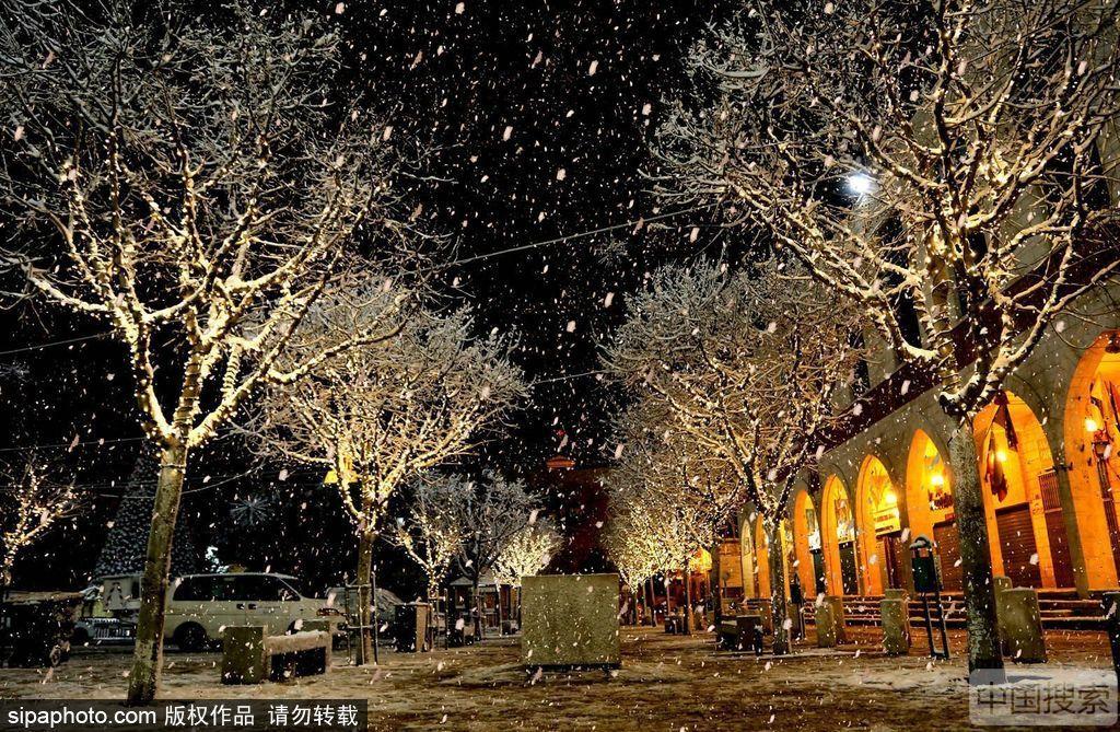 今天小雪!