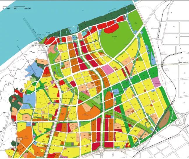"""按照规划,未来整个燕子矶新城,将形成""""六横六纵""""的干路网结构和图片"""