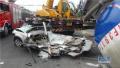 南通一槽罐车右拐弯撞死路人 事故原因仍在调查