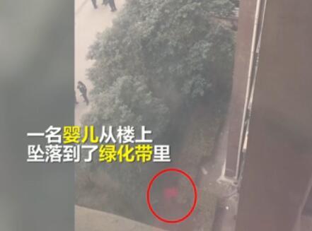 女婴被妈从高楼扔下