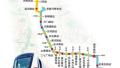 郑州地铁3号线一期共设站21座 换乘站11座