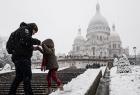 2018年巴黎第一场雪