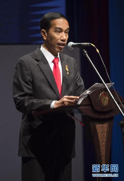 金沙平台金沙娱乐注册:佐科代表印尼执政党参加2019年总统选举
