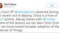 美国专家称中国已领军物联网 外国网友:向中国学习