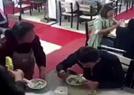 嫌犯饭馆吹牛撞见警察