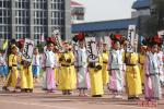 海淀双榆树一小体育节上演民族文化秀