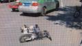 大叔也是没谁了!的士司机酒驾撞电动车 一测酒精度150
