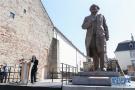 马克思雕像在德国揭幕