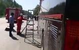 遼寧喀左縣發生車禍客車嚴重變形 已致3死8傷