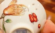 瓷胎堆彩画珐琅的渊源