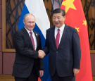 Putin hails Xi as his reliable partner