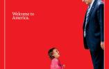 时代周刊最新封面引关注 非法移民女童朝特朗普大哭