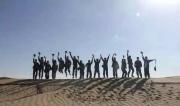 向沙漠英雄致敬,为军魂打Call:水的珍贵,一次次在阿拉善沙漠印证、刷新!