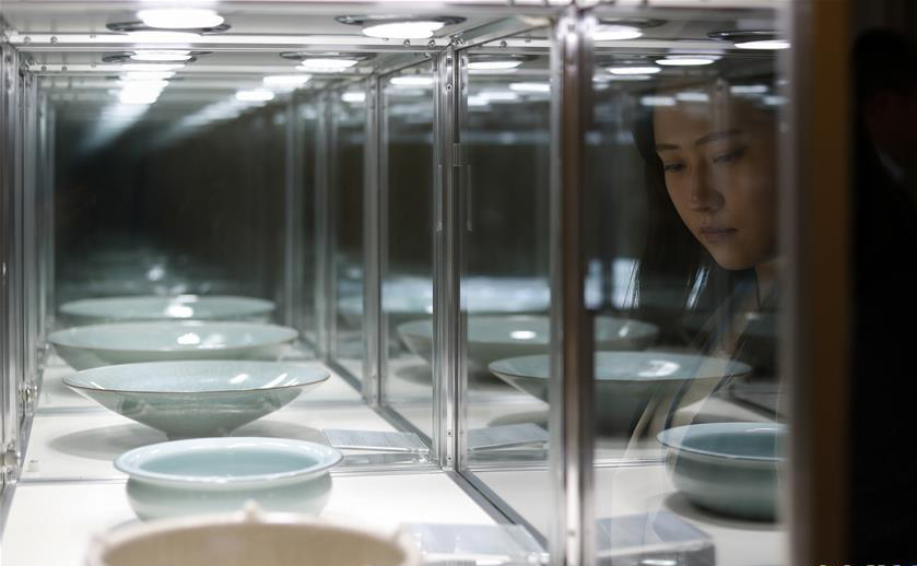 2018龙泉青瓷巡展亮相纽约联合国总部 共展出85件青瓷珍品
