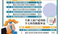 自10月1日起新个人所得税法过渡期政策实施
