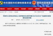 濮阳市公安局正科级干部王广彪被调查