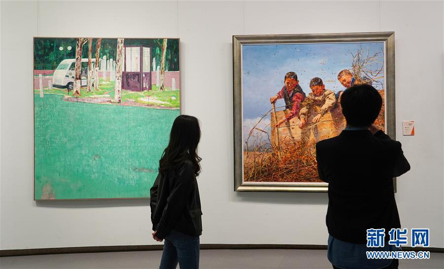 高原·高原——第七届中国西部美术展油画雕塑年度展开展
