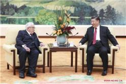 President Xi meets Henry Kissinger