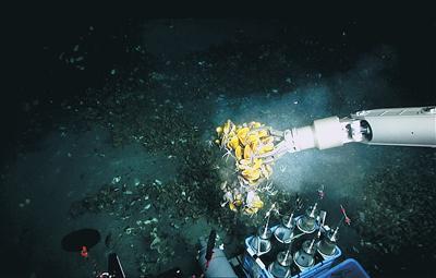 """""""深海勇士""""下潜3300米 收获什么?"""