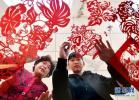 阜城县成为全国最大的剪纸生产基地