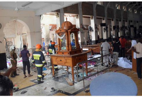 斯里兰卡爆炸死亡人数升至207人 两名中...