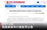 違規設立分支機構 中國野生動物保護協會被處罰