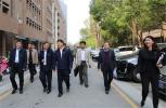 郑州市委组织部副部长史传春到石佛办事处大学科技园(东区)调研指导党建工作