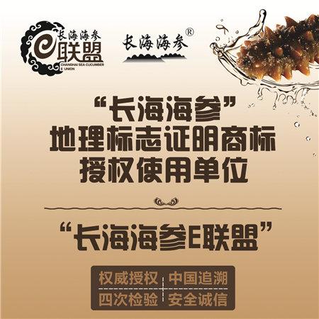 长海柿子E联盟提供中国加入追溯食品安全保海参和香菇图片