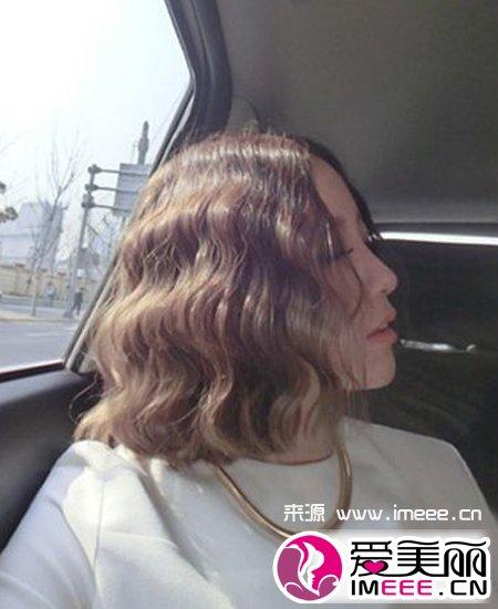 7流行韩式蓬松蛋卷头发型推荐图片