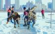 松花江上采冰人 每天连续工作超10小时