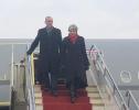 英国首相特雷莎·梅飞抵武汉画面曝光:将登黄鹤楼,并欣赏京剧表演