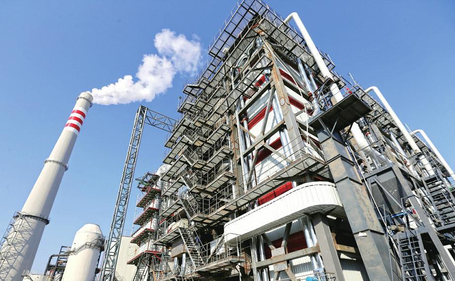 551328.com金沙:全国首台第三代环保锅炉在济南投用
