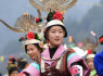 贵州丹寨:芦笙会上秀才艺