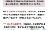 到2022年 河北省城市全部完成地下水压采任务