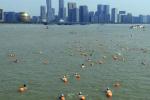 视频|2018横渡钱塘江 一千多名游泳爱好者畅游母亲河