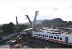 台铁出轨事故已造成200余人死伤 事故原因仍未查明!