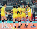 卫冕世界杯冠军 中国女排缘何十战全胜?