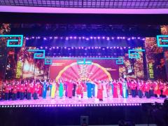 第十届中国曲艺节闭幕演出在平顶山举行 董耀鹏、周斌、张雷明出席