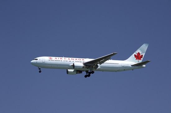 资料图:加拿大航空公司客机