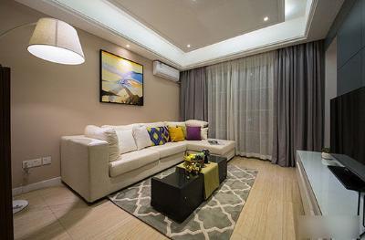 木地板搭配窗帘颜色木地板与窗帘搭配效果图图片11