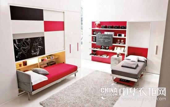 壁床搭配衣柜設計 讓收納空間更大
