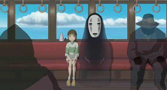 宫崎骏动画《千与千寻》剧照