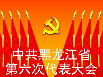 中共黑龙江省第六次代表大会