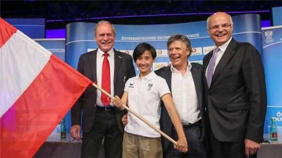 (场外)旗手怎样炼成?奥地利旗手竟是北京人