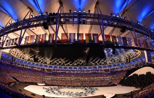 奥运开幕式场面恢宏