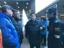北京西站地区管委会领导检查春运志愿服务工作