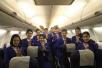 包头直飞曼谷航线首航成功 波音737-800执飞