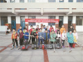 """徐州高级中学举行""""素质机器人运动""""活动"""
