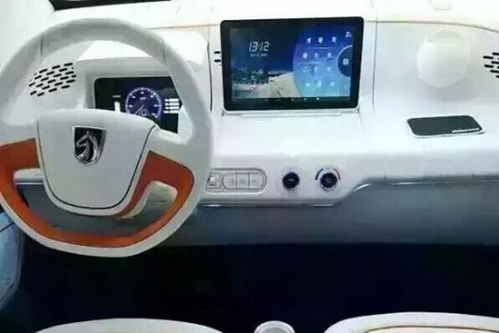 宝骏E100电动车将明年上市 续航超160km高清图片