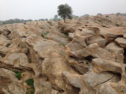 旅游景点推荐 自然奇石 形态万千 金石园地质景观